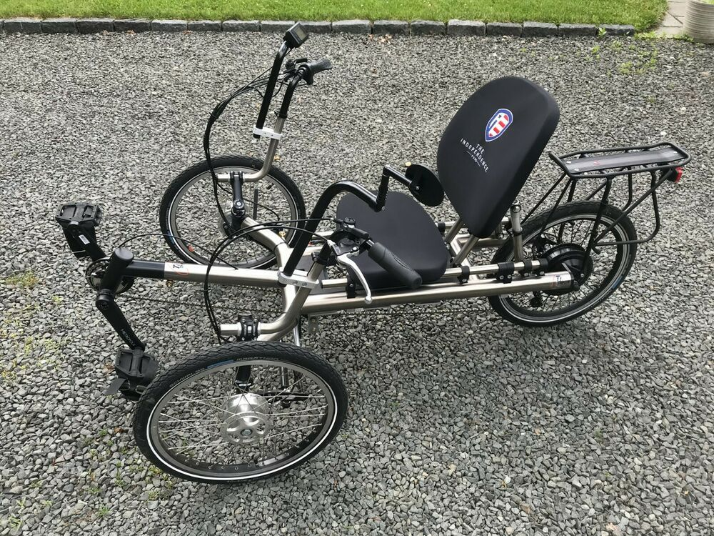 Power Assisted Recumbent Tricycle Ti Trike Model T 250 Electric Assist Trike Trike Bicycle Trike Model T