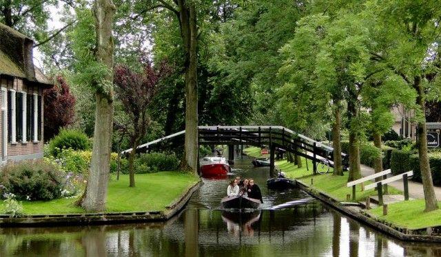 Giethoorn, Holanda!