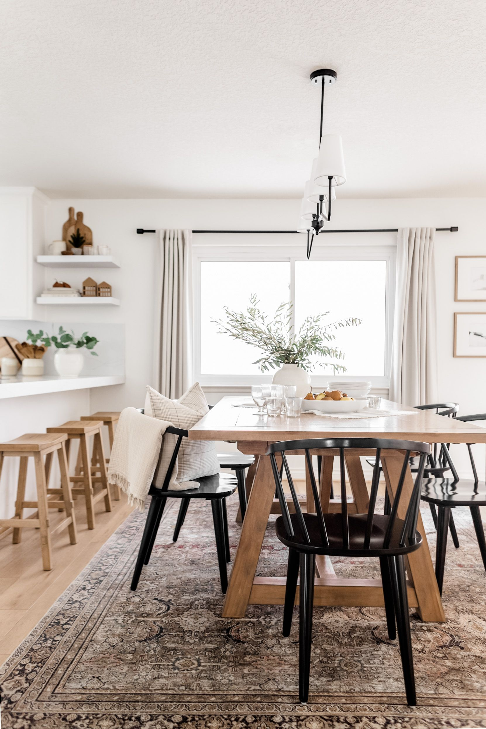 New Dining Room Light + a Chandelier Roundup