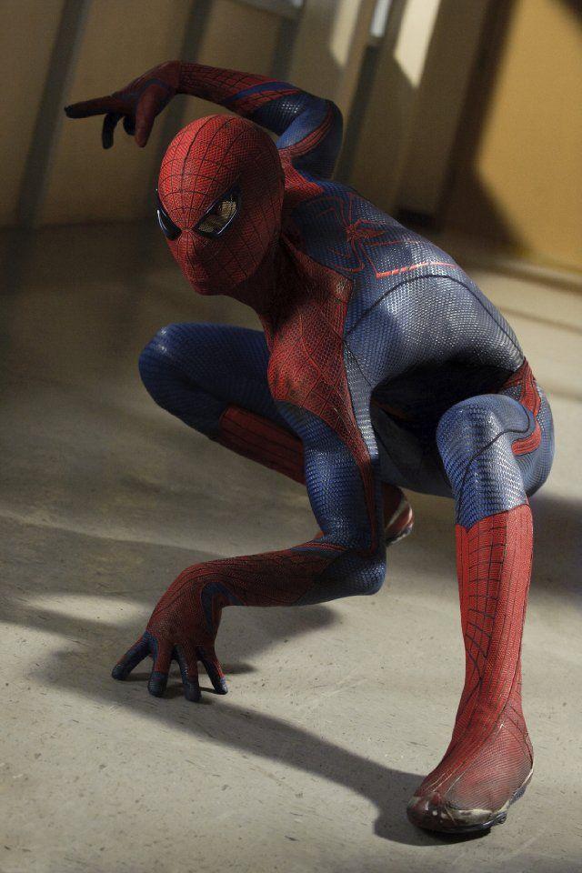 andrew garfield als spider man
