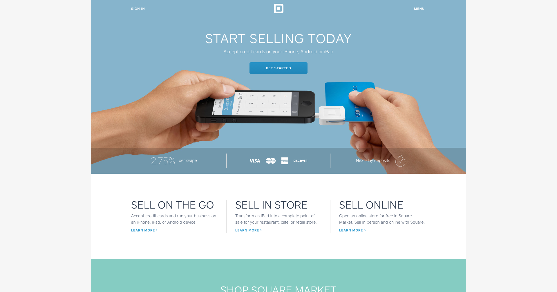 square accept credit card payments with your iphone android or