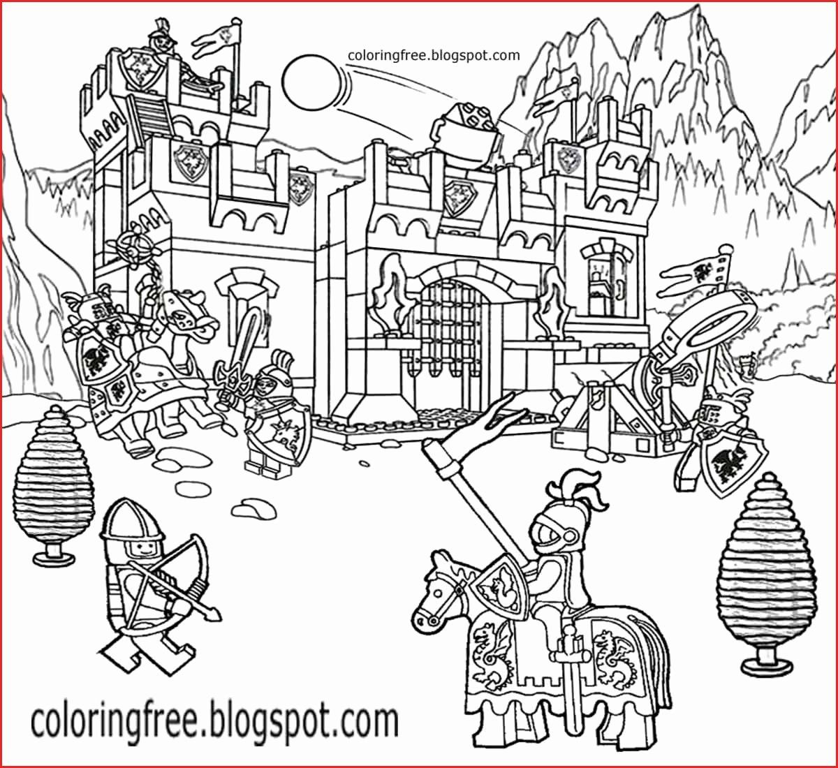 Coloring Fall Tree Best Of Lego City Coloring Pages Tree Fort Fun Printable Coloring Pages Ninjago Coloring Pages Lego Coloring Pages