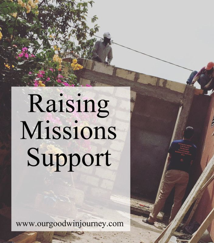 a new perspective on raising missions support... willing to be the feet