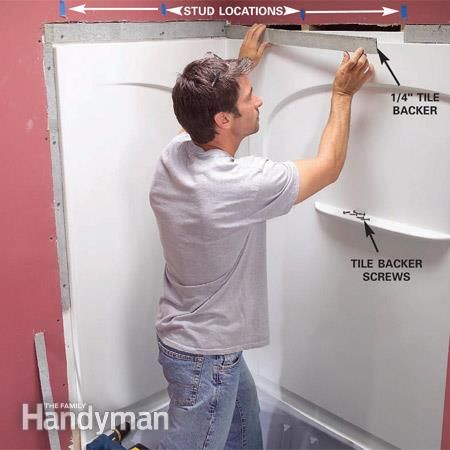 How To Install A Bathtub Install An Acrylic Tub And Tub