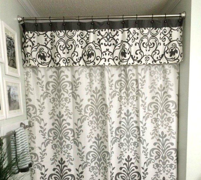 13 Incredibly Useful Tension Rod Ideas You Havenu0027t Seen Yet. Double Shower  CurtainShower ...