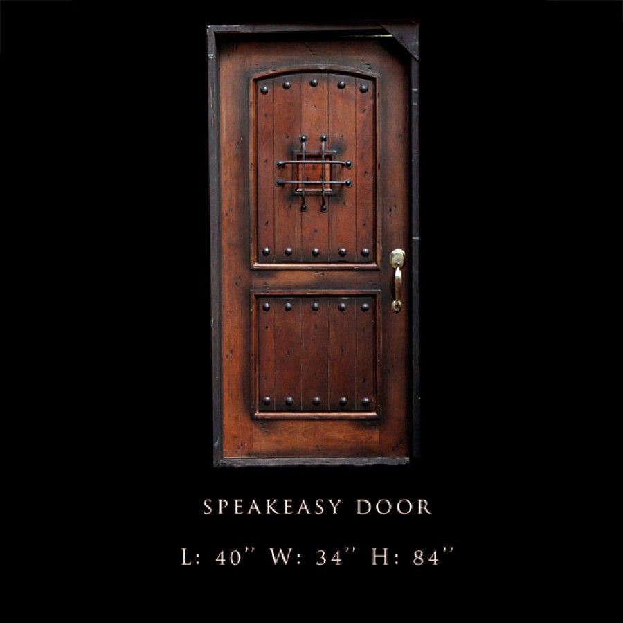 I\u0027d like to see alleys in cities be able to have speakeasy doors with a wooden shutter that can be opened and closed and a iron grill [IMG] [IMG].  sc 1 st  Pinterest & IMG] | A night at the speakeasy | Pinterest