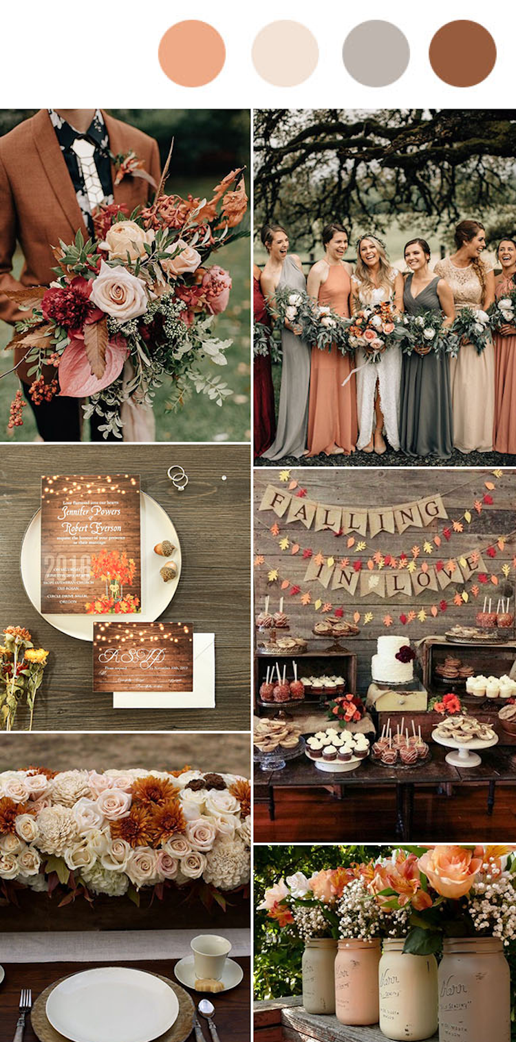 Photo of Wedding colors 2019: these 10 colors will be trendy!