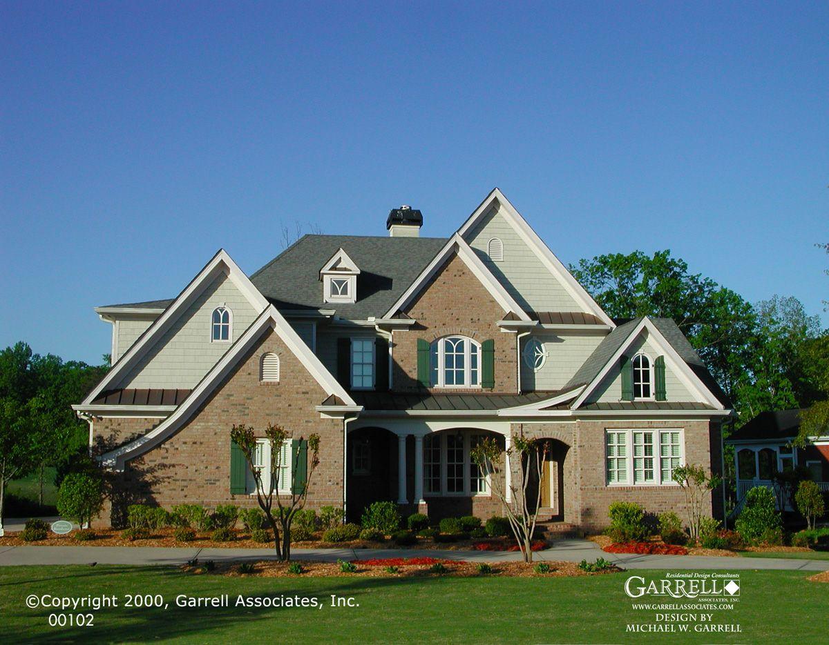 Garrell associates inc abington house plan 00102 for Garrell builders