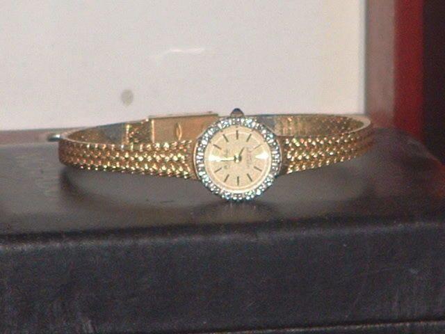 Ladies Diamond Lucien Piccard Dufonte Dress Watch #ebay #giftsforher #wristwatches