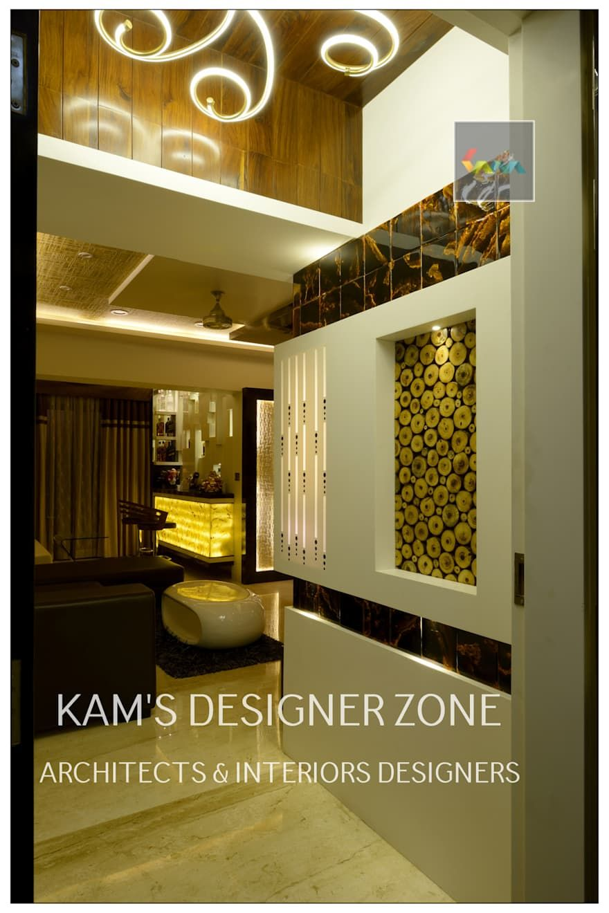 Home Interior Design For Manish Thakkar: Walls By KAMu0027S DESIGNER ZONE
