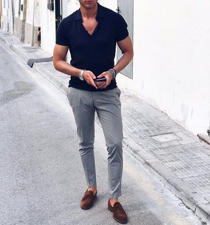 17 Best Navy Polo Shirt Outfit ideas | polo shirt outfits, mens ...