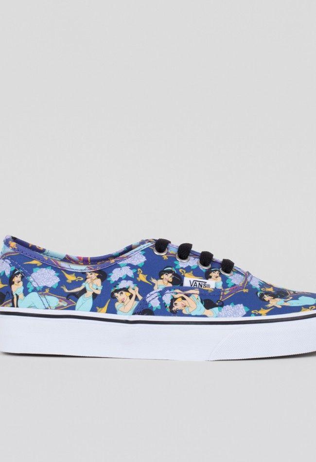 Vans Authentic Shoe Disney Princess JasmineDeep Ultramarine