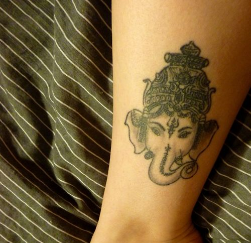 Buddhist Elephant Tattoo Meaning: Best 25+ Ganesha Tattoo Ideas On Pinterest