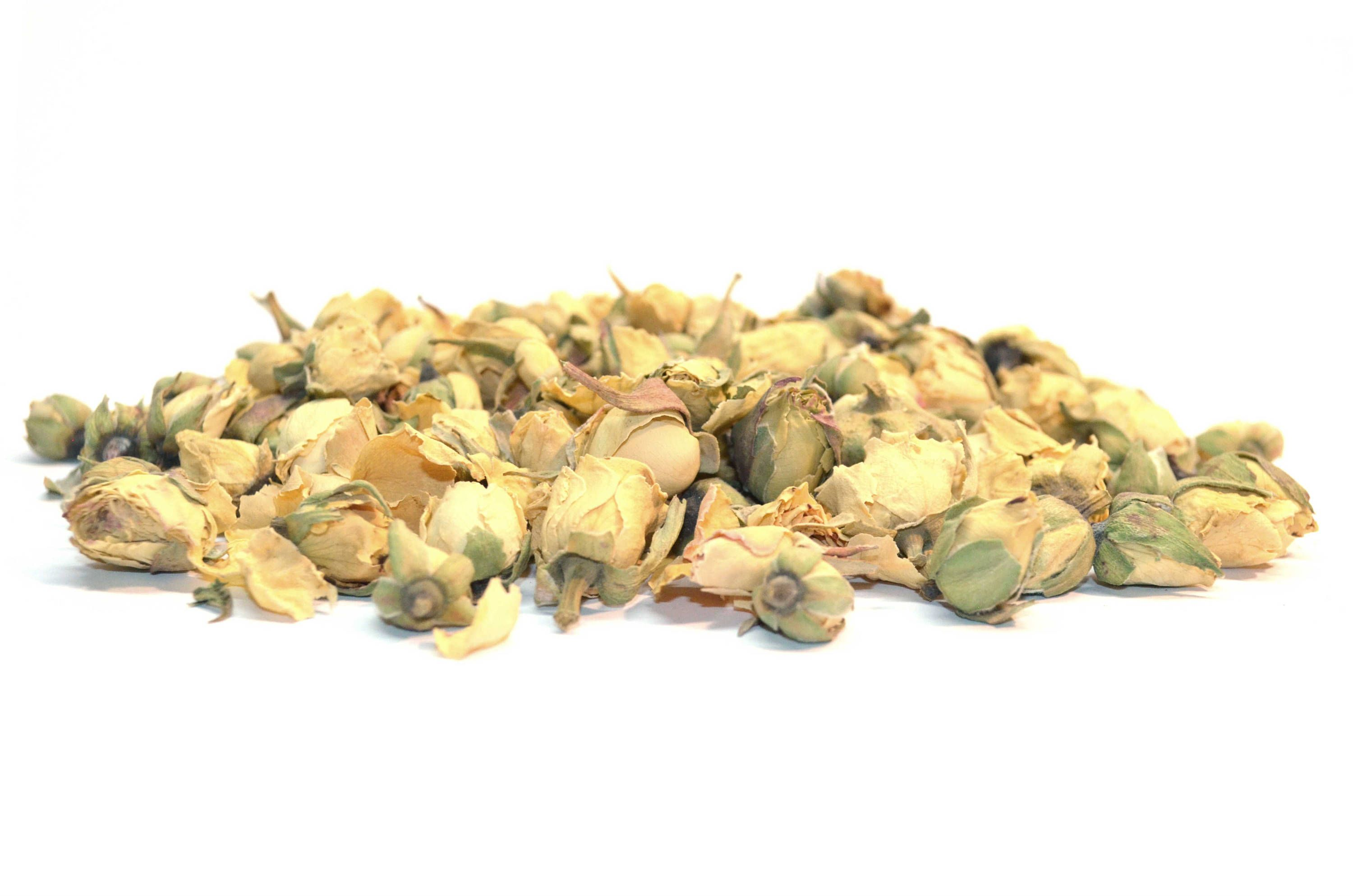 Ivory rose buds dried high quality natural rose buds craft