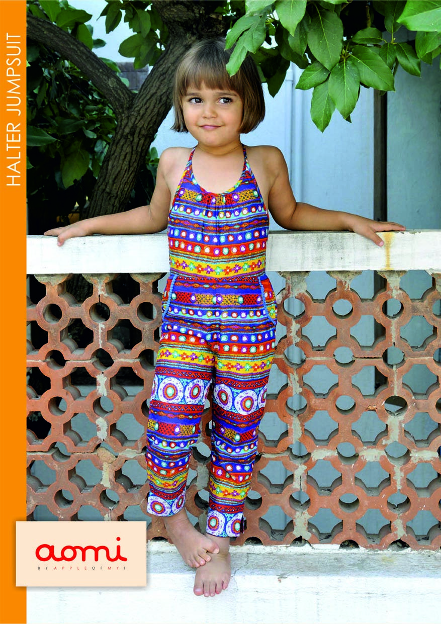 aomi HALTER JUMP SUIT for girls
