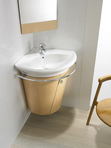 Modern Small Bathroom Design With Awesome Floating Vanity Small