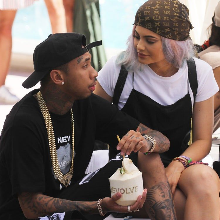 Kylie Jenner Tyga Getty Images Kylie Jenner Tyga Tyga And Kylie Kylie Jenner Coachella