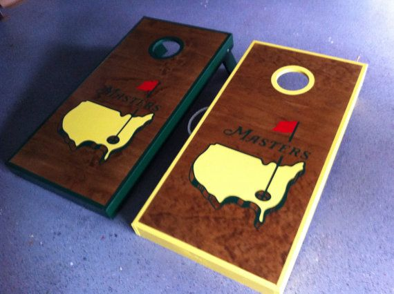 The Masters Cornhole Board Sets The Prep Cornhole