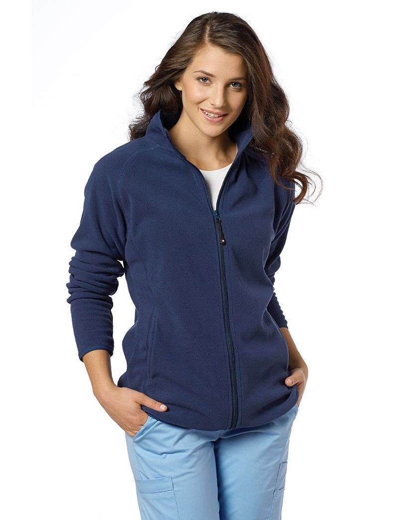 630ec7e9cae Plus Size Fleece Scrub Jackets