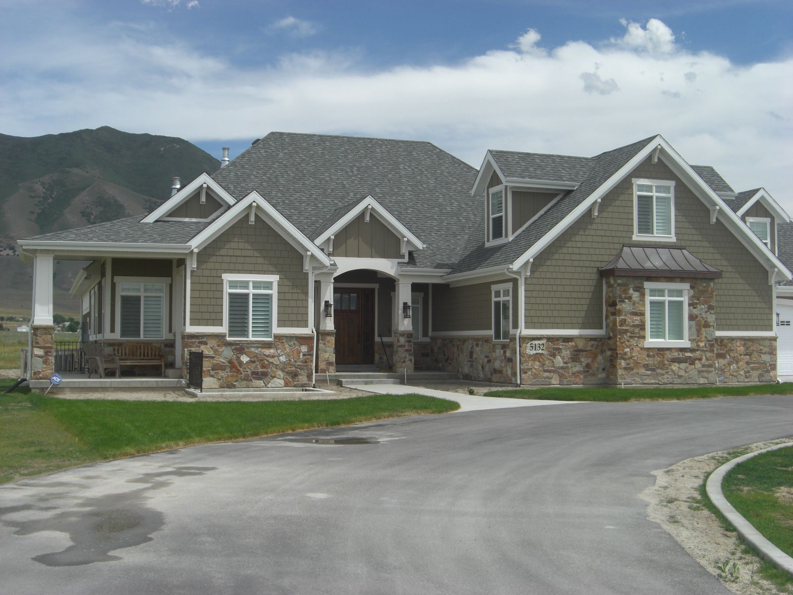 pictures of houses with stone and siding Google Search