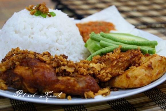 Nasi Ayam Penyet Cooking Recipes Asian Recipes Food