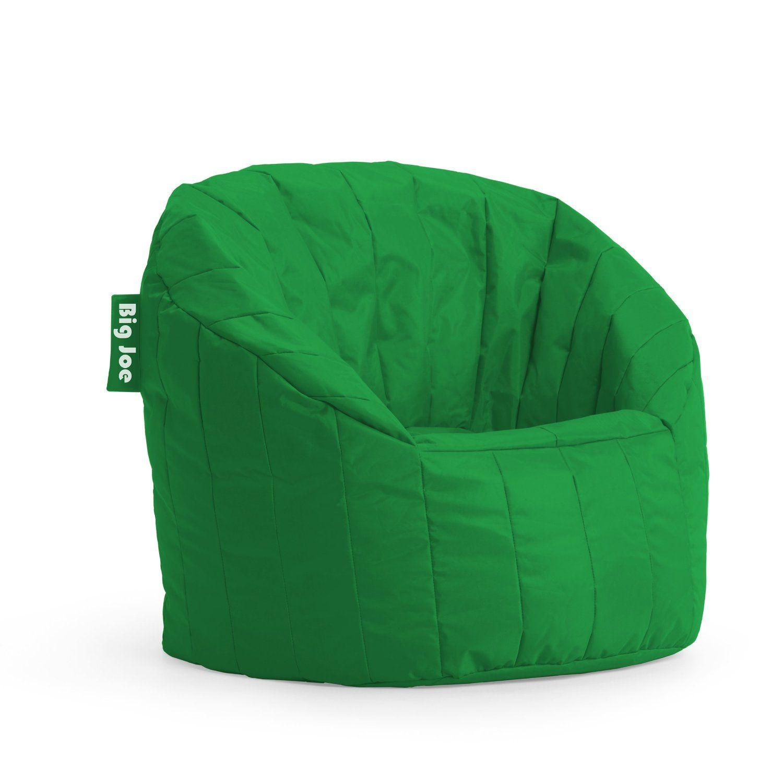 Amazon.com   Big Joe Lumin SmartMax Fabric Chair, Elf Green