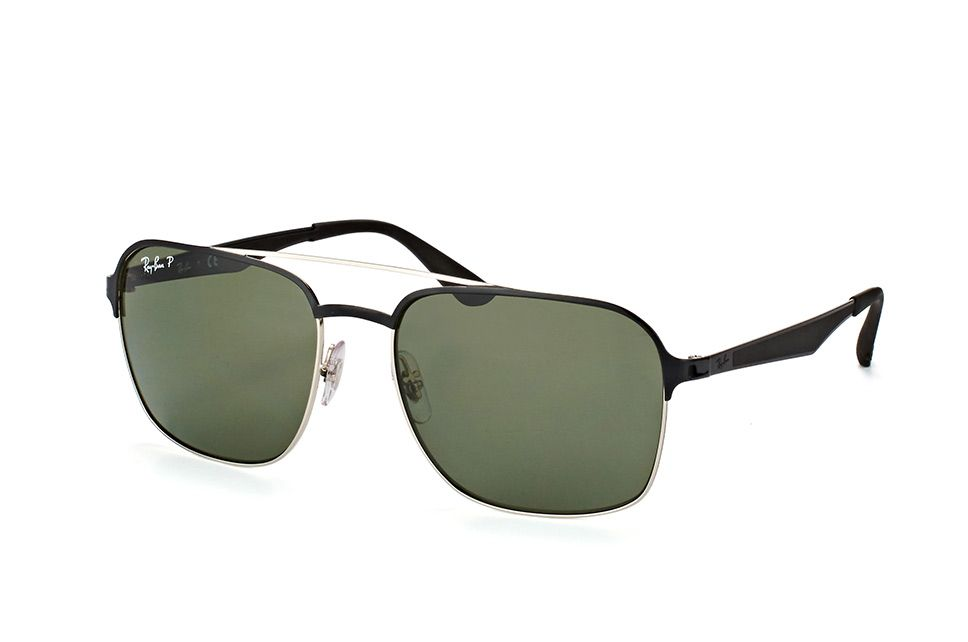 5a1c313ada3 Ray-Ban RB 3570 9004 9A silver top shiny black - AAM