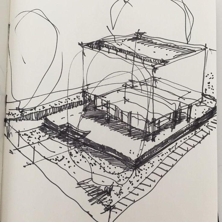 : #architecture #archisketch #architect #archilovers #arch