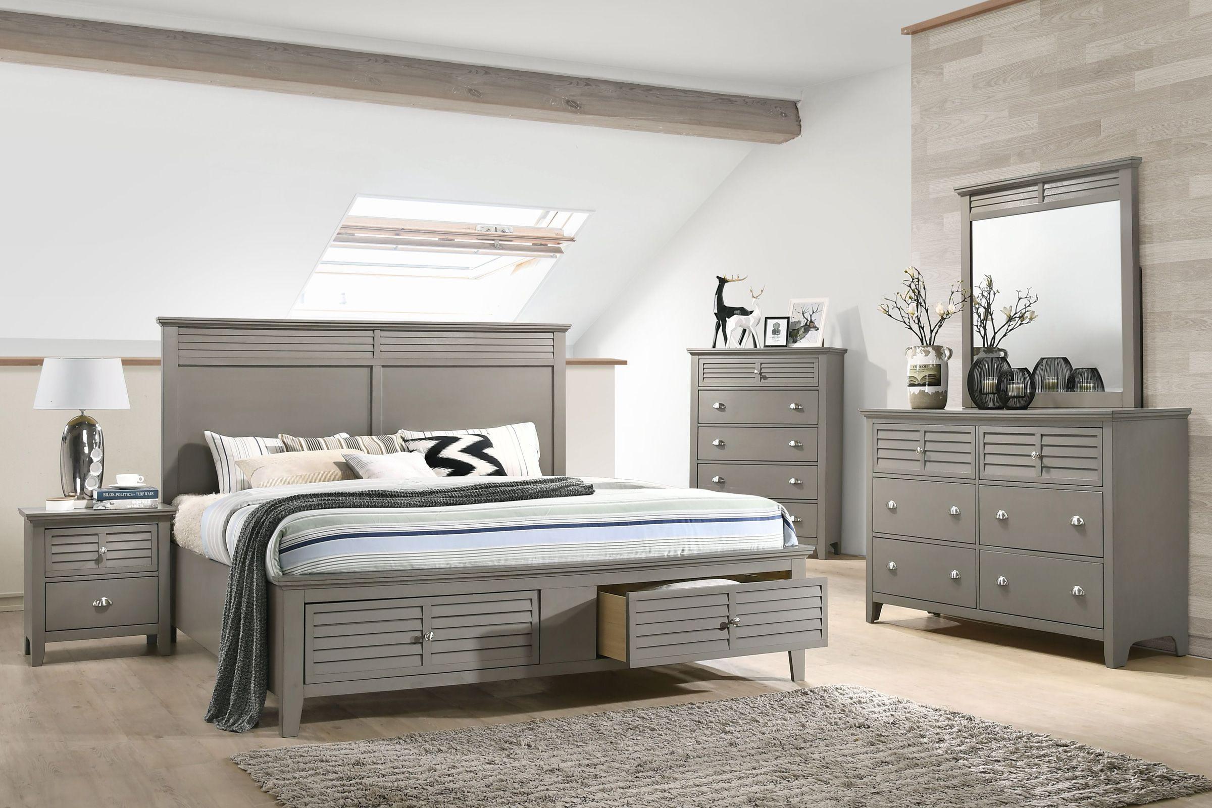 Grant Queen Storage Bed Bedroom Sets King Bedroom Sets Twin