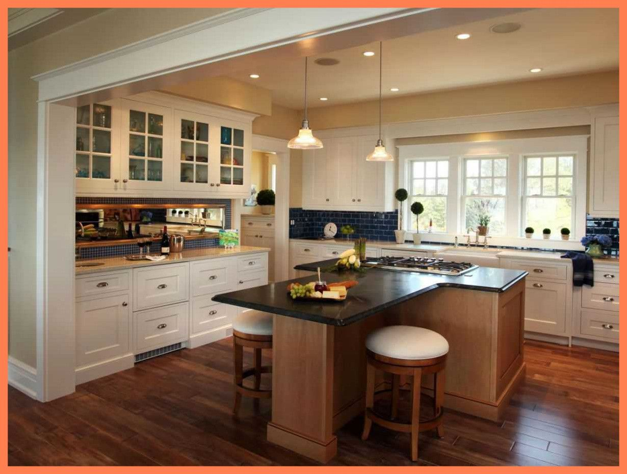 image result for t shaped kitchen island with seating dining table in kitchen kitchen island on t kitchen ideas id=61912