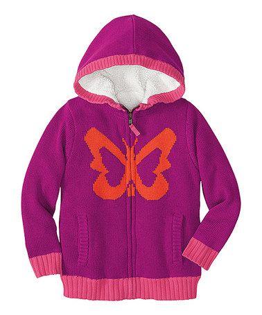 Hanna Anderssson Baby//Toddler Cotton Hooded Zip Sweatshirt