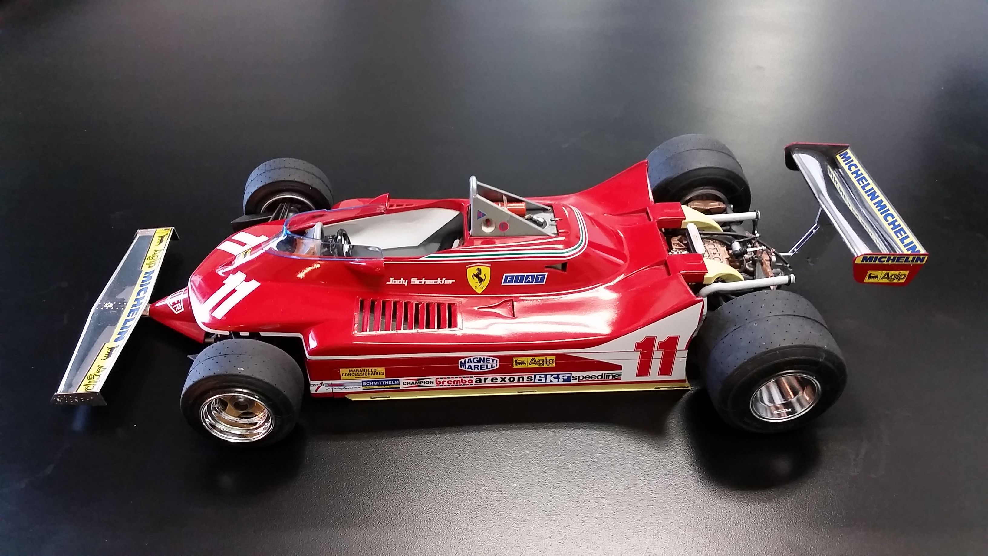 tamiya ferrari 312t4 scale 1 12 by dennis laplante ferrari 312t4 formula one maquette. Black Bedroom Furniture Sets. Home Design Ideas