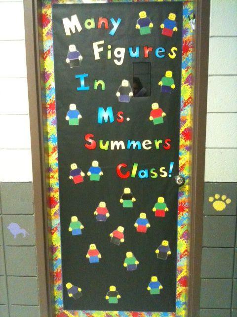 LEGO Classroom Door | In my classroom I made . . . | Pinterest ...