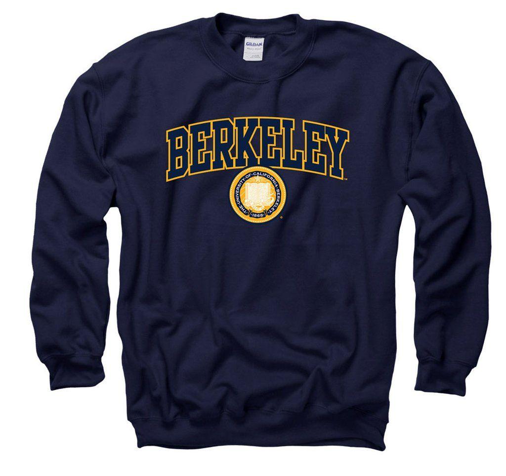 Uc Berkeley Arch Seal Crew Neck Sweatshirt Navy Shop College Wear Sweatshirts Crew Neck Sweatshirt Mens Sweatshirts Hoodie [ 962 x 1024 Pixel ]