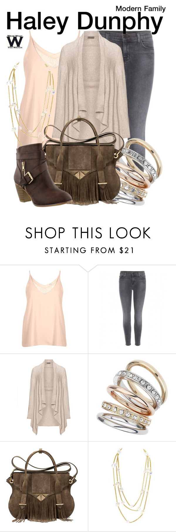 """""""Modern Family"""" by wearwhatyouwatch ❤ liked on Polyvore featuring River Island, J Brand, Open End, Wallis, Ella Rabener, Chanel, modern, women's clothing, women and female"""