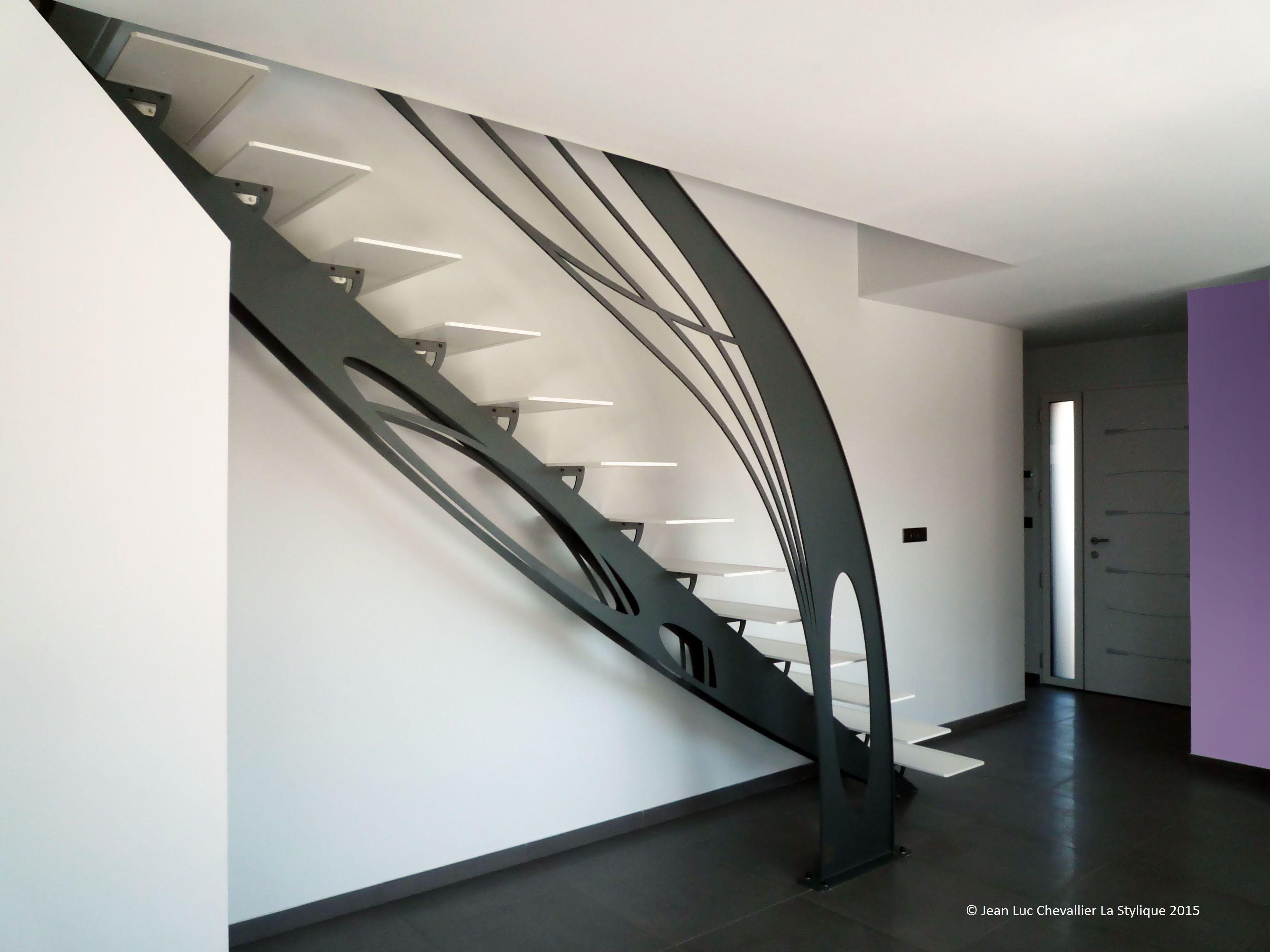 escalier design escalier design m tal la stylique escalier pinterest