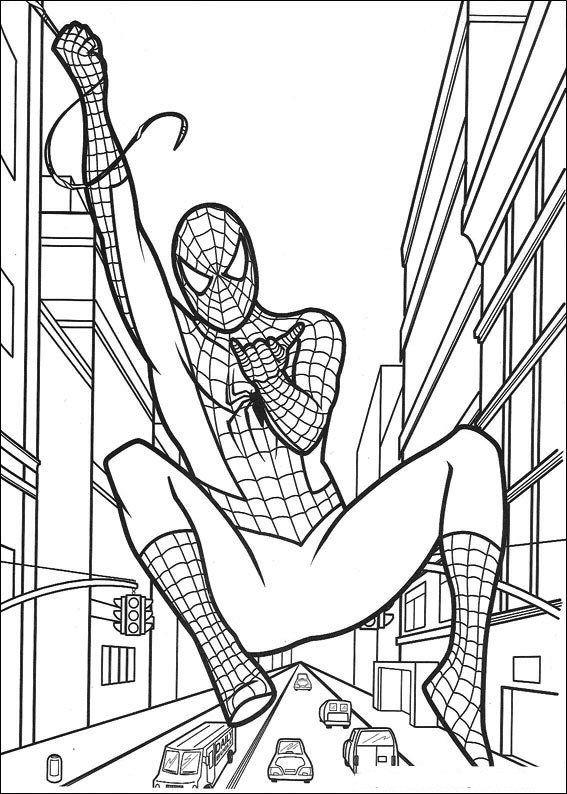 malvorlage spiderman spiderman  superhelden malvorlagen