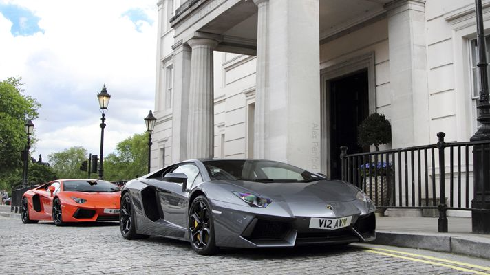 Meet The Supercars Of London Bbc Top Gear