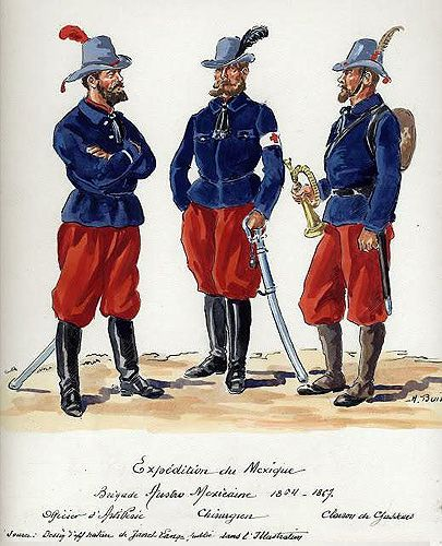 The Mexican Adventure Uniforms Henri Boisselier Soldat