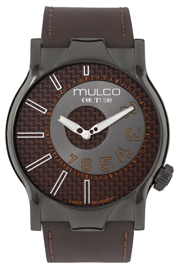 abae7c54c24 Relojes Mulco mujer hombre Couture NYC Marrón modelo MW5-2013-235
