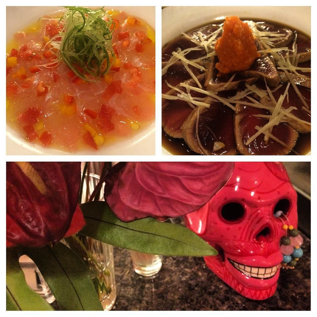 Absolutely amazing #ceviche and #tataki at #moonandturtle by o666lai