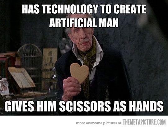 Edward Scissorhands Dad Vincent Price Edward Scissorhands Vincent