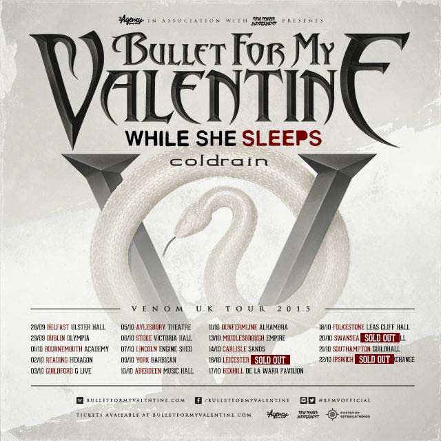 Bullet For My Valentine Tour   Google Search