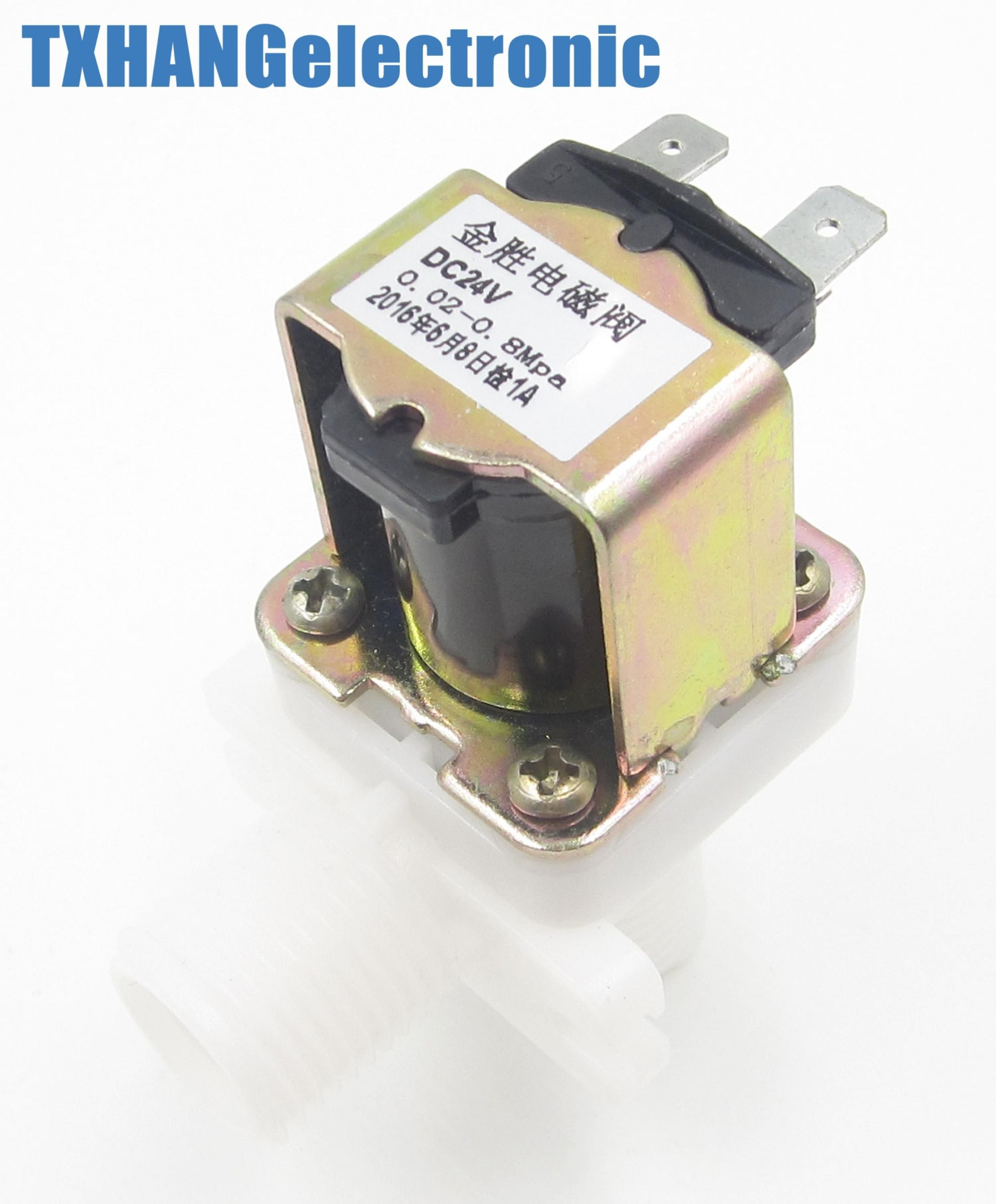 1 2 N C Magnetic N C Electric Solenoid Valve Water Air Inlet Flow Switch Us 4 19 Inlet Valve Electricity