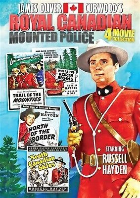 nice ROYAL CANADIAN MOUNTED POLICE 4 MOVIE COLLECTION New DVD James Oliver Curwood - For Sale Check more at http://shipperscentral.com/wp/product/royal-canadian-mounted-police-4-movie-collection-new-dvd-james-oliver-curwood-for-sale/