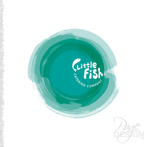 Logo Design for Little Fish Catering Company in Papamoa, NZ