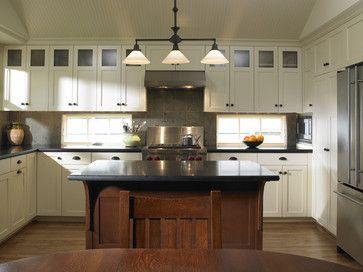 Kitchen window solution - Laurelhurst Kitchen - traditional - Kitchen - Seattle - Goforth Gill Architects