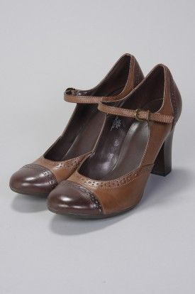Chocolate Duo Brown Mary Jane Heels Milk And Dark Choc Love These Shoes