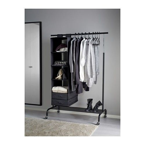 clothing wall clothes iammizgin rack ikea com laundry