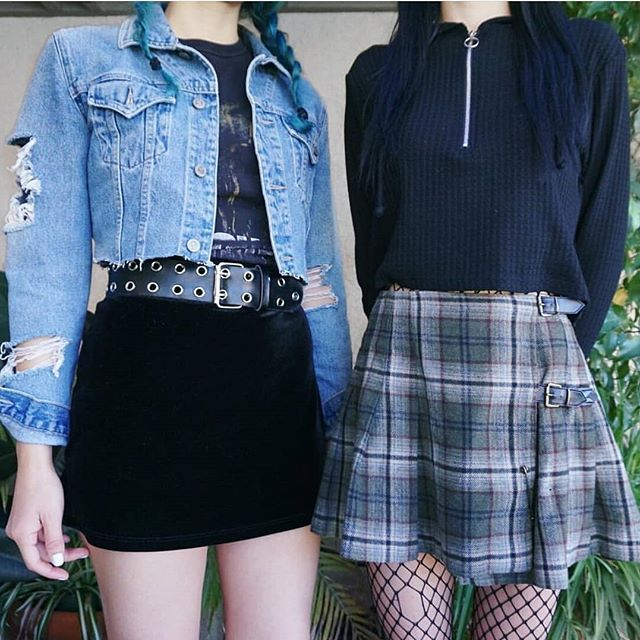 "ALTGIRL on Instagram: ""Right or left �� tag that friend who would really like one of those �� !!! Follow @Mung.y For More Grunge Outfits and Ideas ️ Check Our…"""